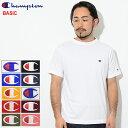チャンピオン Champion Tシャツ 半袖 メンズ C3-P300(Champion C3-P300 S/S Tee BASIC ベーシック 日本企画 無地 ワンポイント Cロゴ C…