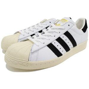 アディダスadidasスニーカーメンズ男性用スーパースター80sWhite/CoreBlack/Goldオリジナルス(adidasSUPERSTAR80sOriginalsホワイト白SNEAKERMENS・靴シューズSHOESBB2231)icefiledicefield