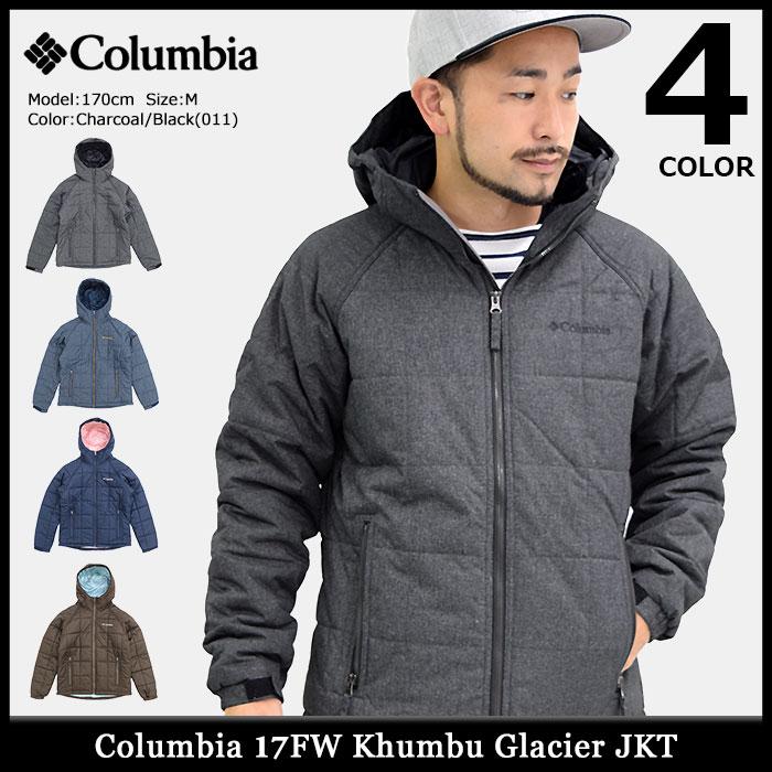 コロンビア Columbia ジャケット メンズ 17FW キュンブー グレイシャー(columbia 17FW Khumbu Glacier JKT キルティングジャケット 中綿入りジャケット 中綿 JAKET JACKET アウター ジャンパー・ブルゾン アウトドア Colombia Colonbia Colunbia PM5349)