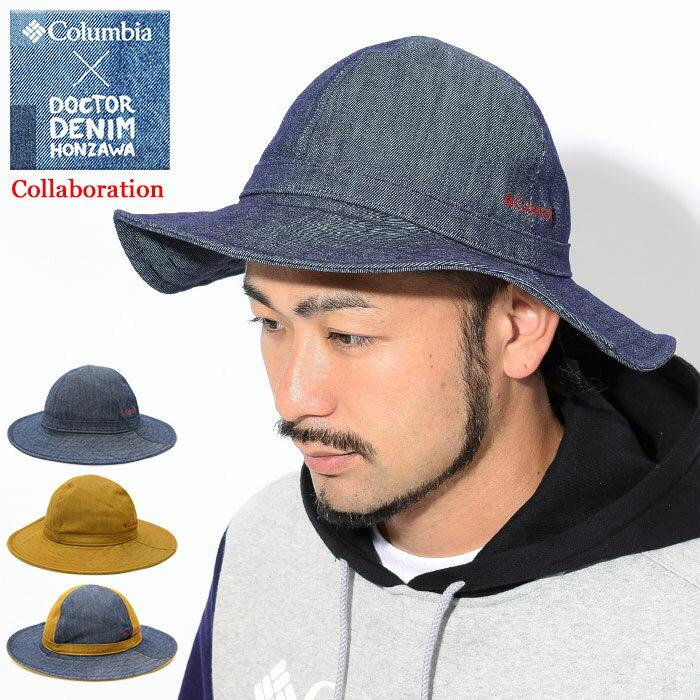 コロンビア Columbia ハット ドクターデニム 本澤 メイプル フィヨルド バケットハット コラボ(columbia×Dr.Denim Honzawa Maple Fjord Bucket Hat 帽子 メンズ レディース ユニセックス 男女兼用 Colombia Colonbia Colunbia PU5372)