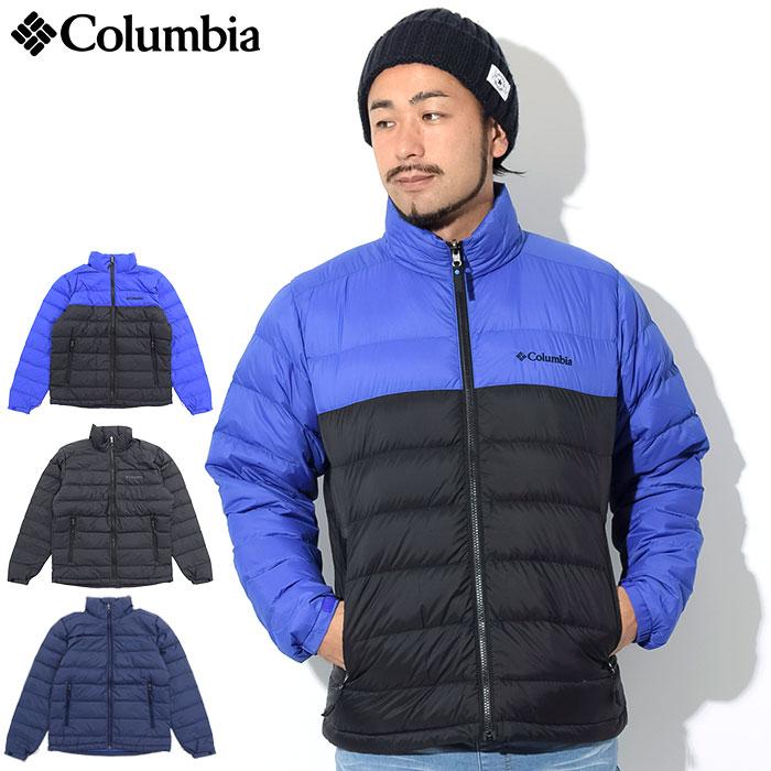 コロンビア Columbia ジャケット メンズ マウンテン スカイライン(columbia Mountain Skyline JKT ダウンジャケット ダウン Down アウター ジャンパー・ブルゾン アウトドア Colombia Colonbia Colunbia PM5610) ice filed icefield