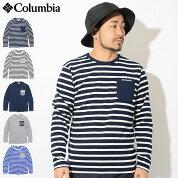 コロンビアColumbiaカットソー長袖メンズヤングストリート(columbiaYongeStreetL/SCrewTシャツティーシャツT-SHIRTSトップスアウトドアメンズ男性用ColombiaColonbiaColunbiaPM1489)