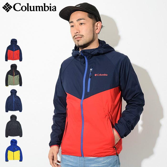 コロンビア Columbia ジャケット メンズ スクエア ハイク(columbia Square Hike JKT ナイロンジャケット JAKET JACKET アウター ジャンパー・ブルゾン アウトドア Colombia Colonbia Colunbia PM3729)