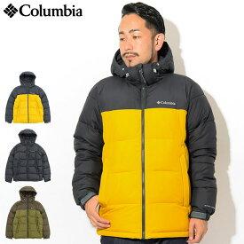 コロンビア Columbia ジャケット メンズ パイク レイク フーデッド(columbia Pike Lake Hooded JKT 中綿入りジャケット 中綿 JAKET JACKET アウター ジャンパー・ブルゾン アウトドア Colombia Colonbia Colunbia WE0020) ice filed icefield