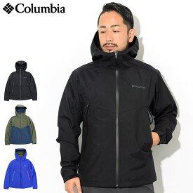 コロンビア Columbia ジャケット メンズ デクルーズ サミット(Columbia Decruze Summit JKT ナイロンジャケット JACKET アウター ジャンパー・ブルゾン アウトドア Colombia Colonbia Colunbia PM3752) ice filed icefield