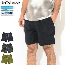 コロンビア Columbia ハーフパンツ メンズ サマードライ 6インチ ショーツ ( columbia Summerdry 6inch Short スウィムショーツ ハーフパンツ ショートパンツ 水陸両用 水着 スイムウェア 海パン ボトムス メンズ 男性用 Colombia Colonbia Colunbia AE0757 )[M便 1/1]