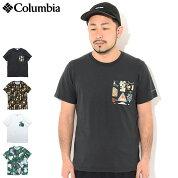 コロンビアColumbiaTシャツ半袖メンズ20SSポーラーパイオニアクルーネック(columbia20SSPolarPioneerCrewNeckS/STeeポケTポケットティーシャツT-SHIRTSカットソートップスメンズ男性用ColombiaColonbiaColunbiaPM1867)[M便1/1]