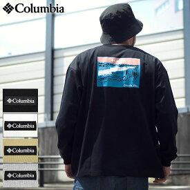 コロンビア Columbia Tシャツ 長袖 メンズ ハンギング ロック フォールズ ( columbia Hanging Rock Falls L/S Tee ビッグシルエット オーバーサイズ ティーシャツ T-SHIRTS ロング ロンティー ロンt トップス アウトドア メンズ 男性用 PM0545 )
