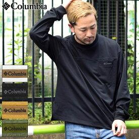 コロンビア Columbia カットソー 長袖 メンズ ロマビスタ クルー ( Loma Vista L/S Crew ビッグシルエット オーバーサイズ ポケット ポケT Tシャツ ティーシャツ T-SHIRTS ロンティー ロンt トップス アウトドア メンズ 男性用 Colombia Colonbia Colunbia PM0730 )