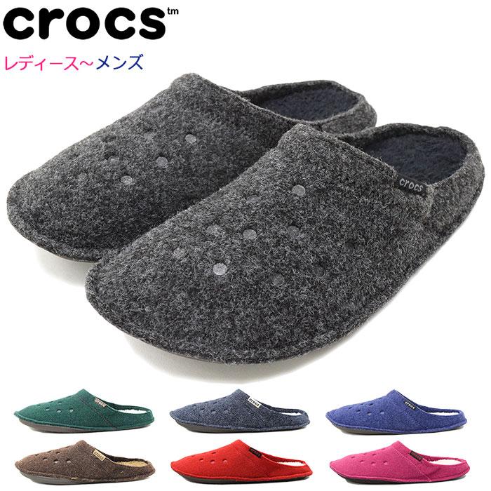クロックス crocs サンダル レディース & メンズ クラシック スリッパ(crocs CLASSIC SLIPPER unisex ユニセックス ルームシューズ 室内履き SANDAL LADIES MENS・靴 シューズ SHOES 203600)