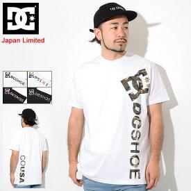 ディーシー DC Tシャツ 半袖 メンズ プリント バーティカル 日本限定(dc Print Vertical S/S Tee Japan Limited ティーシャツ T-SHIRTS カットソー トップス メンズ 男性用 5226J917)[M便 1/1] ice filed icefield