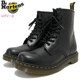 ドクターマーチン Dr.Martens ブーツ 8ホール レディース 女性用 ウィメンズ 1460 8アイ ブーツ ブラック ( DR.MARTENS WOMENS 1460 8 EYE BOOT Black 8ホール ドクター マーチン BOOTS ドクター・マーチン マーティン 靴・ブーツ R11821006 )