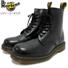ドクターマーチン Dr.Martens ブーツ 8ホール レディース & メンズ 1460 8アイ ブーツ ブラック ( DR.MARTENS 1460 8 EYE BOOT Black 8ホール ドクター マーチン BOOTS ドクター・マーチン レースアップ ブーツ 靴・ブーツ R11822006 )