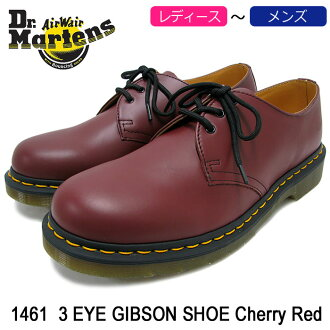 Dr. Martens Dr.Martens 1461 3 eye shoes cherry red mens (dr.martens DR. MARTENS 1461 3 EYE SHOE Cherry Red 3 Hall Dr Martin BOOTS boots Dr, Martin Martin work boots shoes & boots R11838600)