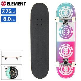 【ポイント5倍】エレメント ELEMENT スケボー スケートボード コンプリート デッキ Quadrant Teal Pink ( 7.75inch 7.75インチ 8.0inch 8.0インチ 完成品 組み立て済み コンプリートセット ブランド メーカー sk8 COMPLETE 大人 初心者 おすすめ COLG3RTP )
