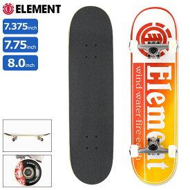 エレメント ELEMENT スケボー スケートボード コンプリート デッキ Section Yellow Red ( 7.375インチ 7.75インチ 8.0インチ 完成品 組み立て済み コンプリートセット ブランド メーカー sk8 COMPLETE 大人 キッズ 初心者 BA027-452 BA027-422 COLG3RYR )