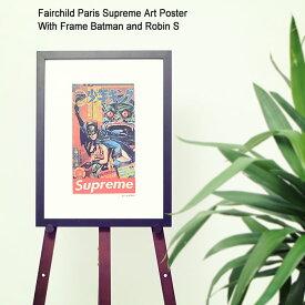 フェアチャイルド パリ Fairchild Paris バットマン ロビン S ポスター シュプリーム アート ポスター ウィズ フレーム ( Fairchild Paris Supreme Art Poster With Frame Batman and Robin S インテリア SUP5-12 )[I便]