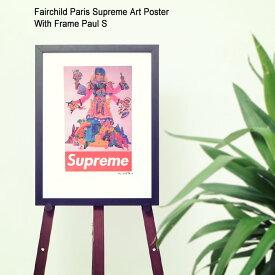 フェアチャイルド パリ Fairchild Paris ポール S ポスター シュプリーム アート ポスター ウィズ フレーム(Fairchild Paris Supreme Art Poster With Frame Paul S Paul Mccartney ポール・マッカートニー インテリア SUP7-12)[I便]