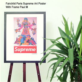 フェアチャイルド パリ Fairchild Paris ポール M ポスター シュプリーム アート ポスター ウィズ フレーム(Fairchild Paris Supreme Art Poster With Frame Paul M Paul Mccartney ポール・マッカートニー インテリア SUP7-16)[I便]