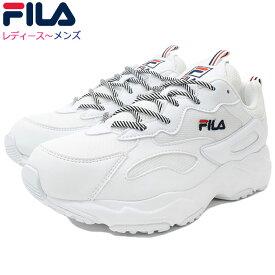 フィラ FILA スニーカー レディース & メンズ レイ トレイサー White(FILA RAY TRACER ダッドシューズ ダッドスニーカー ホワイト 白 SNEAKER LADIES MENS・靴 シューズ SHOES F5055-3130) ice filed icefield