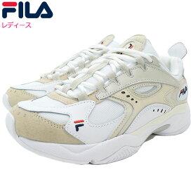 フィラ FILA スニーカー レディース 女性用 ウィメンズ ボバザラス White/Beige(FILA WOMENS BOVEASORUS ダッドシューズ ダッドスニーカー ホワイト 白 SNEAKER LADIES・靴 シューズ SHOES F5070-0101) ice filed icefield