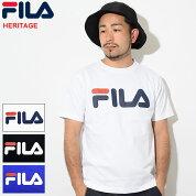 フィラFILATシャツ半袖メンズベーシックロゴ(FILABasicLogoS/STeeHERITAGEティーシャツT-SHIRTSカットソートップスメンズ男性用FM9595)icefiledicefield