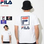 フィラFILATシャツ半袖メンズバックプリントロゴ(FILABackPrintLogoS/STeeHERITAGEティーシャツT-SHIRTSカットソートップスメンズ男性用FM9594)icefiledicefield