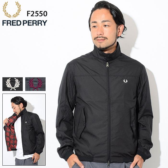 フレッドペリー FRED PERRY ジャケット メンズ プリント ハリントン 日本企画(FREDPERRY F2550 Print Harrington JKT JAPAN LIMITED スイングトップ アウター ジャンパー・ブルゾン フレッド ペリー フレッド・ペリー)
