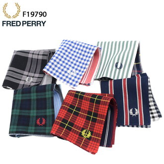 Fred Perry FRED PERRY handkerchief Japan planning for men men's (fred perry FREDPERRY F9912 Handkerchief handkerchiefs made in Japan made in Japan Fred Perry Fred & Perry Fred Perry-) ice filed icefield