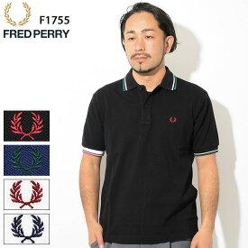 フレッドペリー FRED PERRY ポロシャツ 半袖 メンズ クレイジー カラー リブ ( FREDPERRY F1755 Crazy Color Rib S/S Polo Shirt 日本製 ポロ トップス フレッド ペリー フレッド・ペリー ) ( 父の日ギフト プレゼント 父の日 ギフト ラッピング対応 2019 おしゃれ )