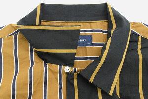 フレッドペリーFREDPERRYシャツ長袖メンズストライプボウリング日本企画(FREDPERRYF4527StripeBowlingL/SShirtJAPANLIMITEDオープンカラーシャツカジュアルシャツトップスフレッドペリーフレッド・ペリー)