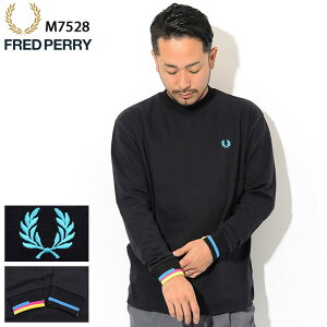 フレッドペリーFREDPERRYカットソー長袖メンズプロセスカラー(FREDPERRYM7528ProcessColourL/SCrewビッグシルエットオーバーサイズTシャツティーシャツT-SHIRTSトップスフレッドペリーフレッド・ペリー)