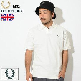 フレッドペリー FRED PERRY ポロシャツ 半袖 メンズ M52 1952 オリジナル フレッドペリー ( FREDPERRY M52 1952 Original Fred Perry 英国製 イギリス 鹿の子 ポロ フレッド・ペリー ) ( 父の日ギフト プレゼント 父の日 ギフト ラッピング対応 2019 おしゃれ )