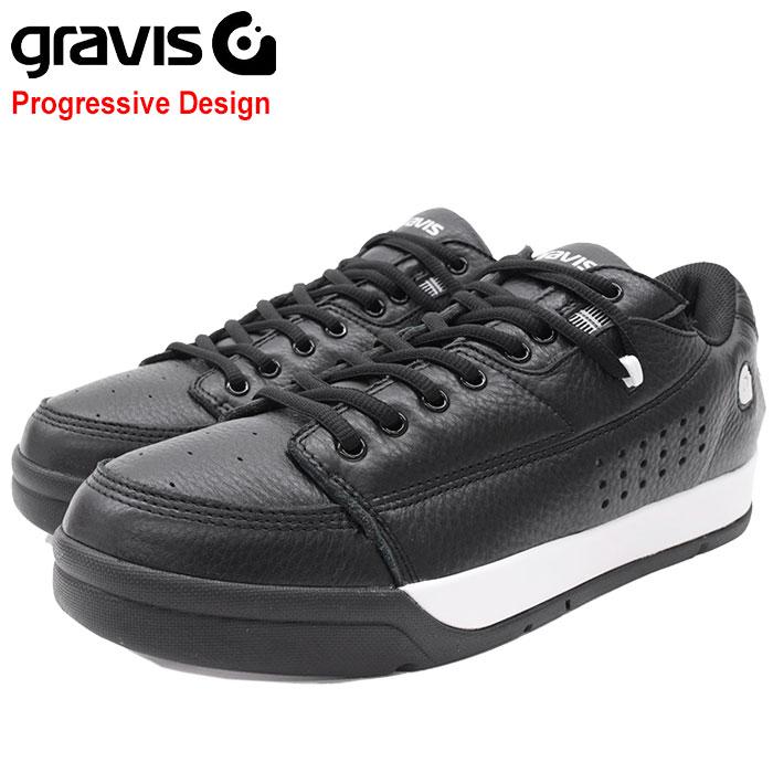 グラビス gravis スニーカー メンズ 男性用 ターマック DLX Black/White(gravis TARMAC DLX Progressive Design ブラック 黒 SNEAKER MENS・靴 シューズ SHOES 01000-0001)