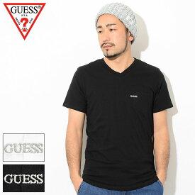 ゲス GUESS Tシャツ 半袖 メンズ ポケット Vネック ( GUESS Pocket V-Neck S/S Tee ティーシャツ T-SHIRTS カットソー トップス メンズ 男性用 MJ2K9417J )[M便 1/1] ice field icefield