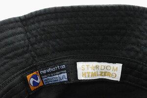 HTMLZERO3×STARDOMひめかコラボハット(エイチティエムエルゼロスリー×スターダムひめかJumboPrincessBucketHatバケットハット帽子HTML-HED291)[M便1/1]