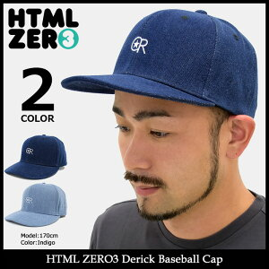エイチティエムエルゼロスリーHTMLZERO3キャップメンズデリックベースボールキャップ(htmlzero3DerickBaseballCapスナップバック帽子エイチティーエムエル)icefiledicefield