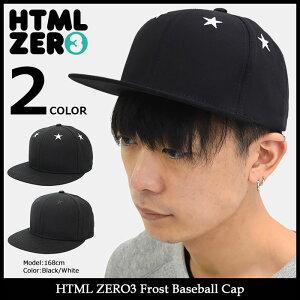 エイチティエムエルゼロスリーHTMLZERO3キャップメンズフロストベースボールキャップ(htmlzero3FrostBaseballCapスナップバック帽子エイチティーエムエルHTML-HED270)icefiledicefield