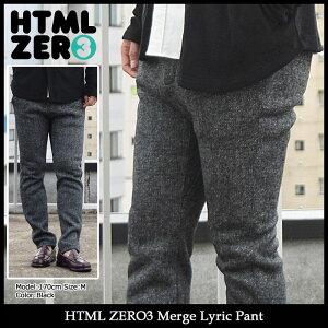 【送料無料】エイチティエムエルゼロスリーHTMLZERO3パンツメンズマージリリック(htmlzero3MergeLyricPantボトムスエイチティーエムエルHTML-PT099)icefiledicefield