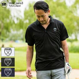 エイチティエムエル ゼロスリー HTML ZERO3 ポロシャツ ドライ メンズ ゴルファーズ(Golf Poloトップス)( 父の日ギフト プレゼント ラッピング対応 2019 おしゃれ)