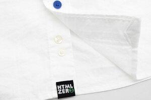 エイチティエムエルゼロスリーHTMLZERO3シャツ長袖メンズバリオスボタンオックスフォード(htmlzero3VariousButtonOxfordL/SShirtカジュアルシャツトップスエイチティーエムエルHTML-SHT123)
