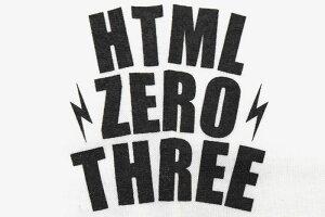 エイチティエムエルゼロスリーHTMLZERO3Tシャツ長袖メンズブリンククレスト(htmlzero3BlinkCrestL/STeeティーシャツT-SHIRTSカットソートップスロングロンティーロンtエイチティーエムエル)