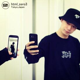 エイチティエムエル ゼロスリー HTML ZERO3 Tシャツ 長袖 メンズ セルフィー ロール(html zero3 Selfie Roll L/S Tee ティーシャツ T-SHIRTS カットソー トップス ロング ロンティー ロンt エイチティーエムエル HTML-T549)