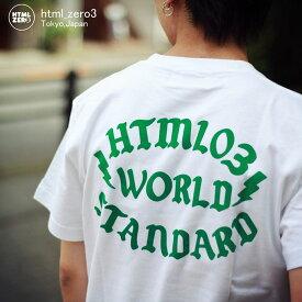 エイチティエムエル ゼロスリー HTML ZERO3 Tシャツ 半袖 メンズ ミステリー ライト(html zero3 Mystery Write S/S Tee ティーシャツ T-SHIRTS カットソー トップス エイチティーエムエル HTML-T538)[M便 1/1]