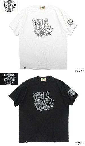 エイチティエムエルゼロスリーHTMLZERO3Tシャツ半袖メンズガチャピンアンドチルコラボ(GachapinAndChillTeeティーシャツT-SHIRTSトップスHTML-T591)[M便1/1]