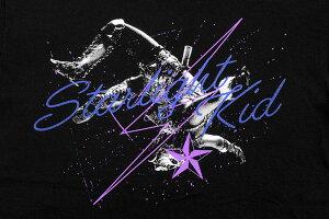 HTMLZERO3×STARDOMスターライト・キッドコラボTシャツ半袖メンズ(エイチティエムエルゼロスリー×スターダムスターライト・キッドSkytigerHoodS/STeeスカイタイガーフードティーシャツHTML-T594)