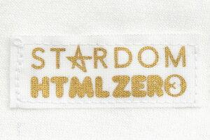HTMLZERO3×STARDOMひめかコラボロンTTシャツ長袖メンズ(エイチティエムエルゼロスリー×スターダムひめかでかいはかわいいBigL/STeeビッグシルエットオーバーサイズティーシャツロンティー長袖TシャツHTML-T595)