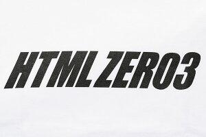 エイチティエムエルゼロスリーHTMLZERO3Tシャツ半袖メンズウェンディロゴ(htmlzero3WendyLogoS/STeeティーシャツT-SHIRTSカットソートップスエイチティーエムエルHTML-T513)[M便1/1]icefiledicefield