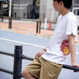 エイチティエムエル ゼロスリー HTML ZERO3 Tシャツ 半袖 メンズ ファミリア ガール(html zero3 Familiar Girl S/S Tee ティーシャツ T-SHIRTS カットソー トップス エイチティーエムエル HTML-T534)[M便 1/1]