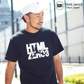 エイチティエムエル ゼロスリー HTML ZERO3 Tシャツ 半袖 メンズ デュレーション ジャンプ(html zero3 Duration Jump S/S Tee ティーシャツ T-SHIRTS カットソー トップス エイチティーエムエル HTML-T554)[M便 1/1]